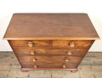Antique 19th Century Mahogany Chest of Drawers (3 of 9)