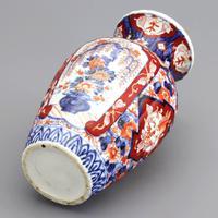 19th Century Japanese Meiji Period Reeded Imari Vase c1880 (7 of 8)