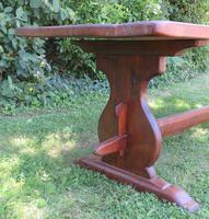 Large French Oak Refectory Dining Table (4 of 12)