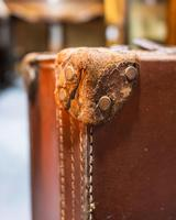 Good Quality Leather Suitcase (3 of 3)