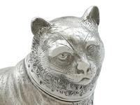 Sterling Silver Cat Shaker - Antique Victorian 1876 (6 of 9)
