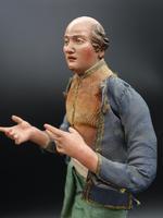 Very Well Modelled & Tall Mid 19th Italian Crib Figure (5 of 5)