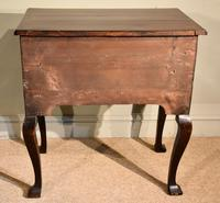 George III Lowboy on Square Cabriole Legs (7 of 7)