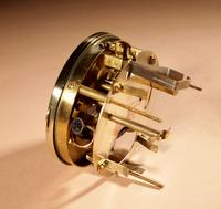 Early Electrical Ato Art Deco Small Desk / Mantel Clock (3 of 8)