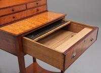 19th Century  Satinwood Ladies Writing Table in the Sheraton Style (10 of 15)