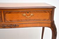 Antique French Style Inlaid Rosewood Console Table (6 of 11)
