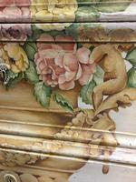 19th Century Painted Commode Chest of Drawers (9 of 12)