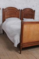 Fabulous Pair of Single Henri II Style Cane & Wood Single Beds (9 of 11)