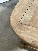 Super Rustic French Oval Farmhouse Dining Table (16 of 36)