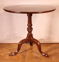 English Tripod Table in Mahogany Early 19th Century (5 of 6)