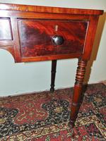 Late Georgian Mahogany Dressing Table (4 of 7)