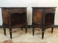 French Empire Style Cabinets Bedside Tables (6 of 16)