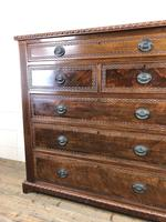 Large Late Victorian Mahogany Chest of Drawers (11 of 11)