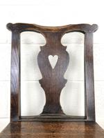 Set of Four 19th Century Oak Dining Chairs (7 of 10)