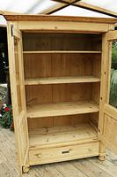 Fabulous Old Pine 'Knock Down' Glazed Display Cabinet (7 of 10)
