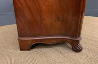 19th Century French Flame Mahogany Commode (10 of 20)