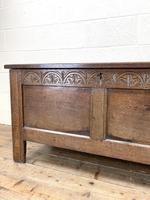 Antique 18th Century Welsh Oak Coffer (5 of 10)