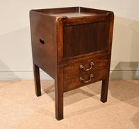 Late 18th Century Mahogany Bedside Cabinet (3 of 7)