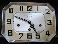 Lovely French Art Deco Westminster Chiming Wall Clock by Stem (3 of 6)