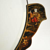 Antique Chinese Style Chinoiserie Mirror (4 of 7)