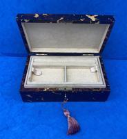 1960s Tortoiseshell Fitted Jewellery Box (6 of 8)