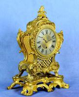 Fine English Ormolu Fusee Mantle Clock - Webster of London (2 of 9)