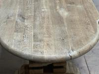 Huge French Bleached Oak Monastery Dining Table (10 of 30)