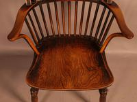 Thames Valley Yew Wood Windsor Chair (7 of 11)