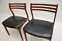 Pair of Danish Rosewood Chairs by P.E. Jørgensen for Farso Stolefabrik (10 of 12)