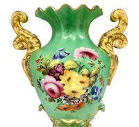 19th Century Coalport Design Porcelain Vase c.1830- 1850 (6 of 8)