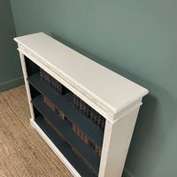 Antique Victorian Painted Open Bookcase (4 of 6)