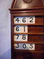 Victorian Hymn Number Board (3 of 6)
