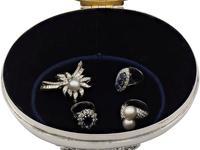 Sterling Silver Jewellery Box - Antique Edwardian 1908 (8 of 12)