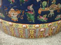 Pair of Chinese Qing Dynasty Painted Barrels / Seats (16 of 17)