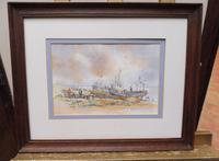 Watercolour & Ink Hastings Boats Listed Artist Valerie Sadler (7 of 10)