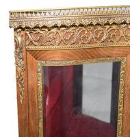 French Display Cabinet Vernis Martin Painted Bijouterie c.1900 (15 of 16)
