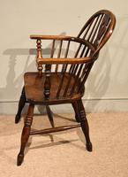 Ash & Elm Windsor Armchair with Low Back (3 of 6)
