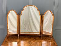 Burr Walnut Bow Fronted Dressing Table (17 of 19)