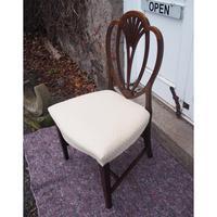 18th Century Hepplewhite Mahogany Single Chair (3 of 5)