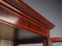 Antique Sheraton Style Inlaid Mahogany Display Cabinet (10 of 18)