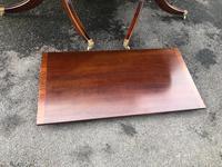 Antique Mahogany Twin Pillar Extending Dining Table (7 of 9)