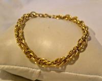 Vintage Bracelet 1970s 12ct Gold Filled Fancy Link with Stamped Bolt Ring (3 of 10)