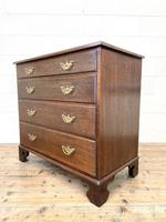 19th Century Antique Oak Chest of Drawers (6 of 9)