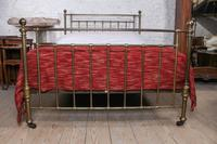 Attractive All Brass Original Victorian King Size Bed (5 of 8)
