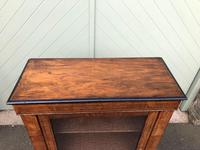 Antique Inlaid Walnut Display Cabinet (3 of 10)