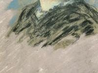 Fine Quality Early 20th Century Oval Pastel Portrait Painting Inc London Gallery Label (8 of 12)