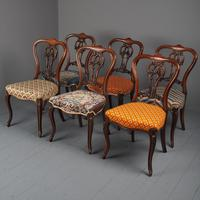 Set of 6 Mid Victorian Rosewood Dining Chairs (2 of 14)