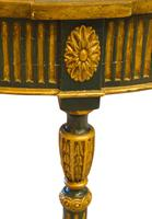 Painted George III Style Demi Lune Pier Table c1880 (8 of 8)