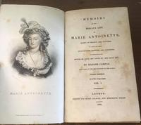 1824 Memoirs of the Private Life of  Marie Antoinette by Madam  Campan (2 of 5)
