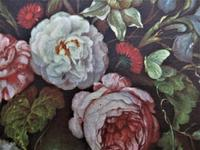 Vintage lithograph print after Bice Giachino, Still Life with Flowers, c1930, Stehli Freres (2 of 4)